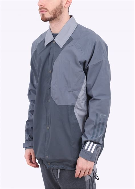 white bench jacket adidas originals x white mountaineering bench jacket grey