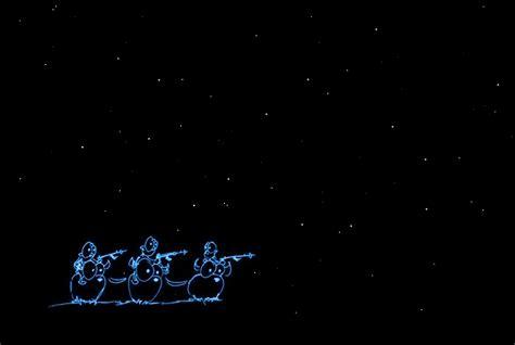 screen backgrounds: monkeys under stars | bluebison.net