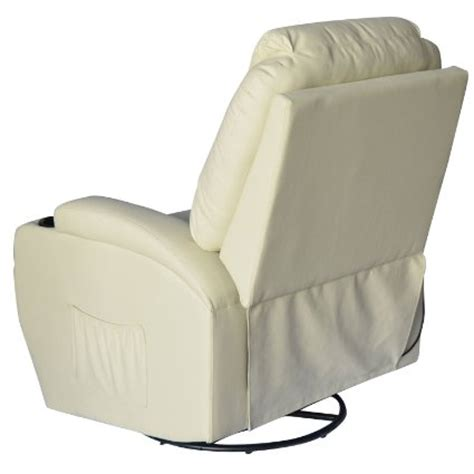 Heated Chair Recliner by Review Of Homcom Deluxe Heated Vibrating Pu Leather