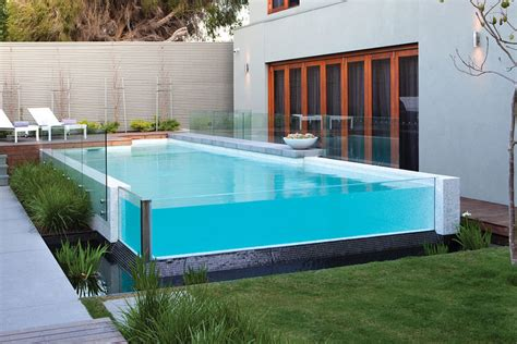 glas pool 25 finest designs of above ground swimming pool swimming