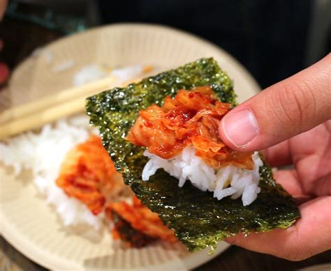 Stores Like Container Store by Roasted Seaweed Sheets Gim Gui Recipe Maangchi Com