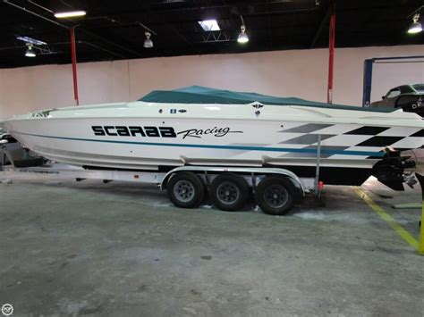used performance boats for sale florida 1999 used scarab 33 avs high performance boat for sale