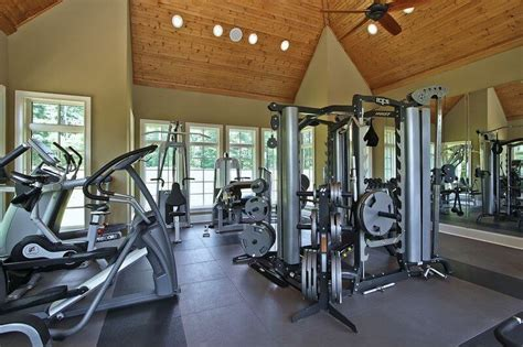 large fans for gyms 27 luxury home design ideas for fitness buffs