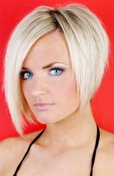 blonde bob long face short layered bob hairstyles gallery hollywood official