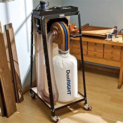woodworking vacuum systems dust right wall mount dust collector rockler woodworking