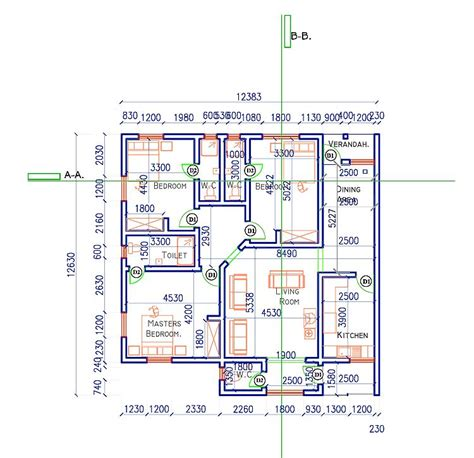 2 bedroom house plan bedroom at real estate