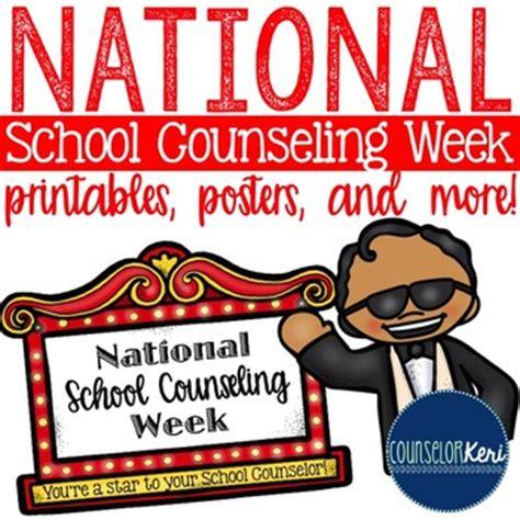 national school counselor national school counseling week printables
