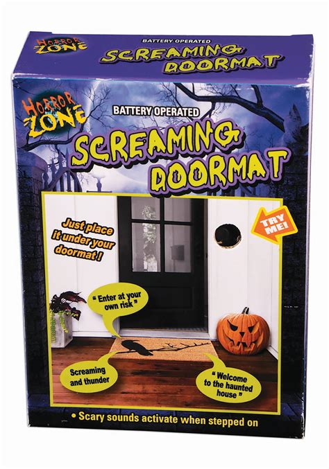 Screaming Doormat by Motion Activated Screaming Doormat