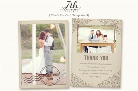 best thank you card template best sle design wedding thank you cards template