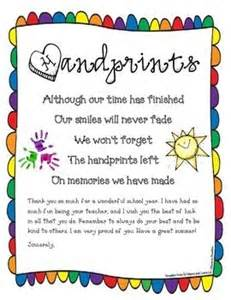 Kindergarten Promotion Letter To Parents End Of Poem And End Of Year On
