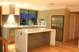 Modern Kitchen Island Bench modern contemporary kitchen with evoline port benchmarc kitchens