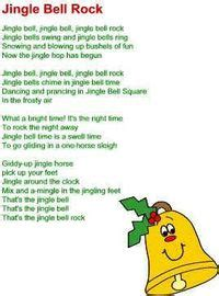 printable lyrics jingle bell rock dltk holidays com juxtapost