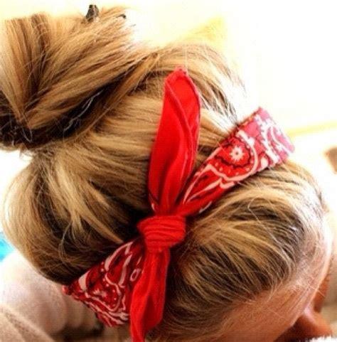 Emily Bandana Chevronana Bows Headband 135 best images about hair on how to