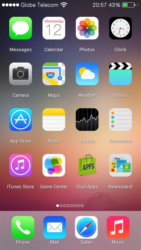 ios 7 launcher voor android verander je android in een iphone