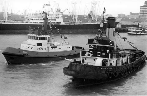 tug boat auckland harbour the auckland steam tug william c daldy of 1935
