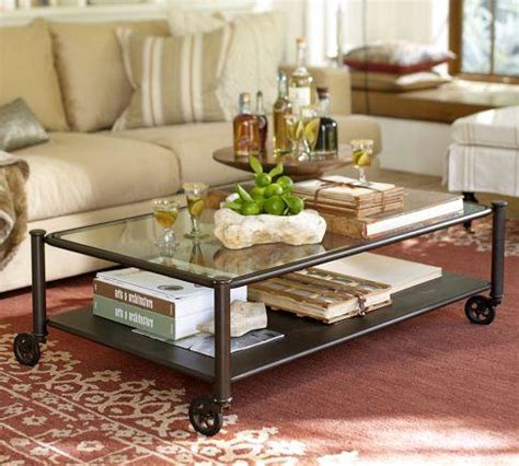 robert coffee table pottery barn