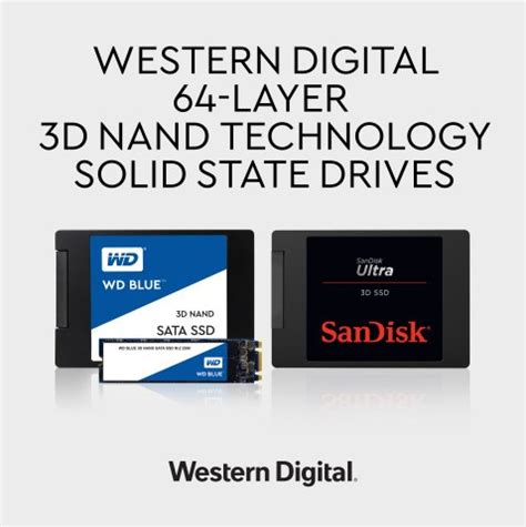 western digital and toshiba reveals 64 layer ssds