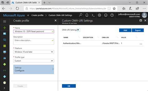 reset windows password jak korzystac windows 10 로그인 화면의 azure ad sspr microsoft docs
