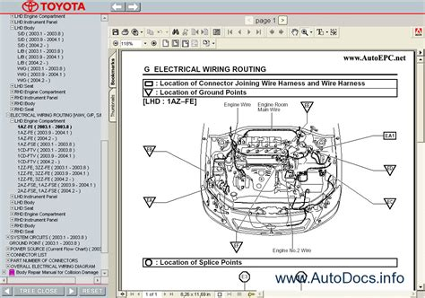 car repair manuals online free 2003 toyota avalon lane departure warning avalon vt737sp
