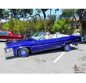 Le Cabriolet Very Hard To Find Lowrider With Hydrolics For Sale