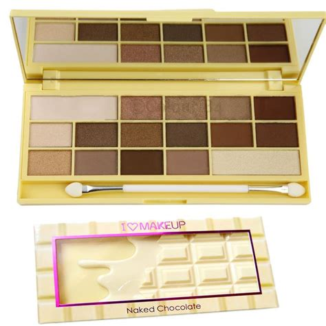 Eyeshadow 6 Chocolate Pallete Kmrx 69 best images about makeup revolution cosmetics on