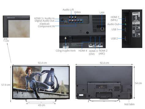 Tv Led Sony W 650d tivi sony 40 inch kdl 40w700c điện m 225 y xanh