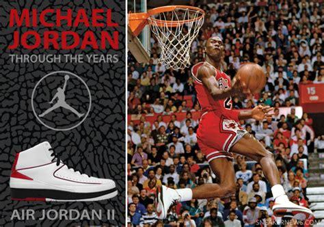 biography on michael jordan shoes michael jordan through the years air jordan ii
