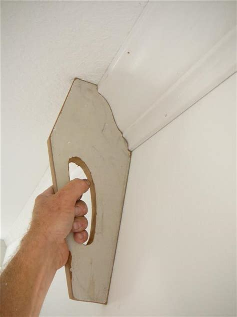How To Install Ceiling Moulding by Installing Three Crown Moulding