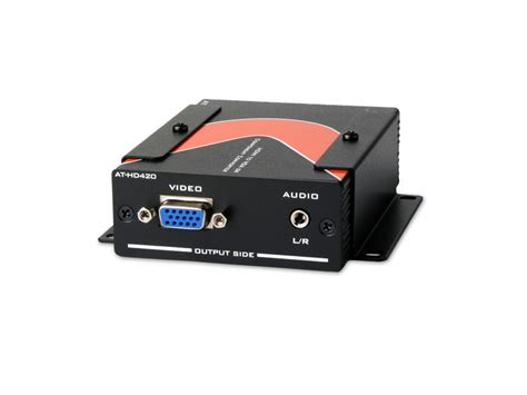 format audio hd hdmi to vga component and stereo audio format converter