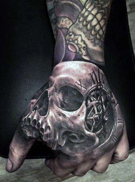 skull tattoo on hand meaning skull hand tattoos designs ideas and meaning tattoos