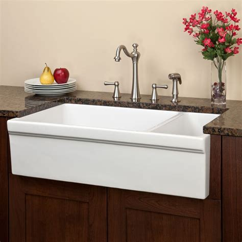 fireclay farmhouse lowest price 16 best images about large kitchen sinks on pinterest