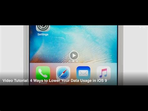 data by tutorials fourth edition ios 11 and 4 books tutorial 4 ways to lower your data usage in ios 9