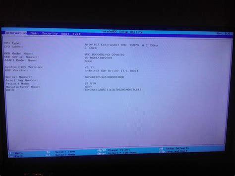 acer e1 510 uefi installing windows 7 windows 7 help