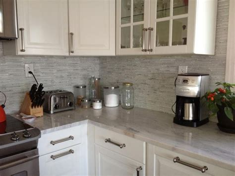 stick on backsplash tiles for kitchen peel and stick backsplash mosaic metallic glass tile