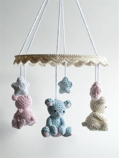 Teddy Crib Mobile by 25 Best Ideas About Crochet Teddy Bears On