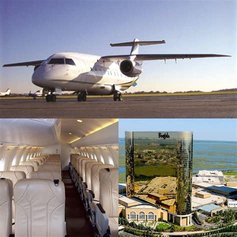 fly borgata luxury travel to atlantic city