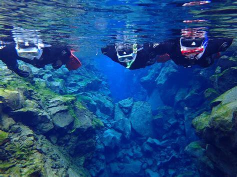 snorkeling from reykjavik silfra fissure in thingvellir