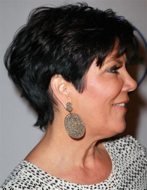 hair cut short like kris kardashian jenner and the technical kris jenner haircut back view the back of kris jenner