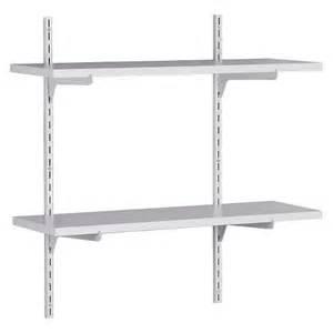 closetmaid wood shelving closetmaid wall mounted adjustable 2 shelf shelv target
