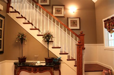 updated foyer with accessible beige by sherwin williams bonnie donahue