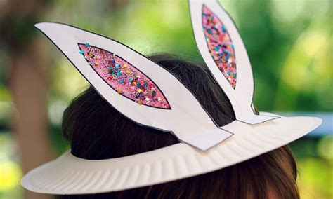 easter bonnets templates easter bunny bonnet print and make your own kidspot