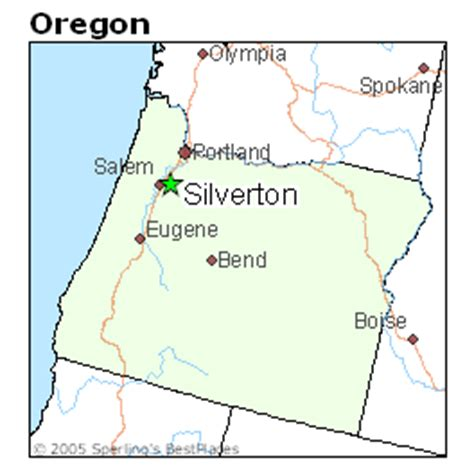 map of silverton oregon best places to live in silverton oregon