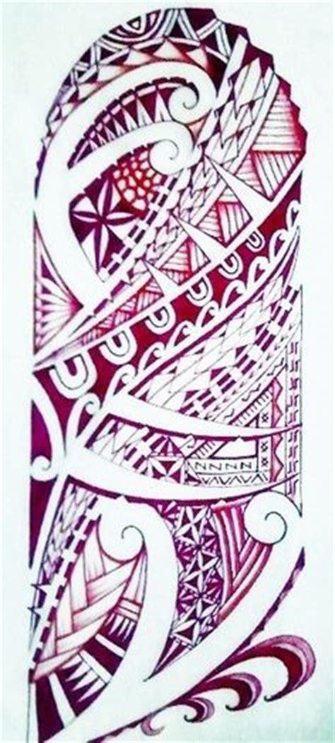 maori polynesian warrior sleeve stencil polynesian drawing drawings