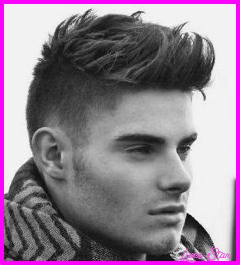 boy haircut short sides long top short on sides long top haircut livesstar com