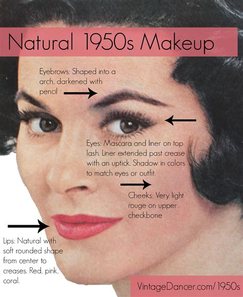 hair and makeup in the 1950s authentic natural 1950s makeup history and tutorial