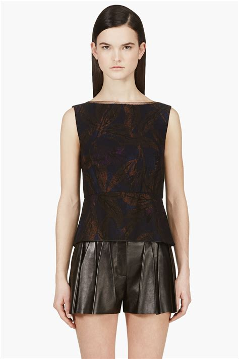 boat neck black blouse marc jacobs black sleeveless boat neck blouse