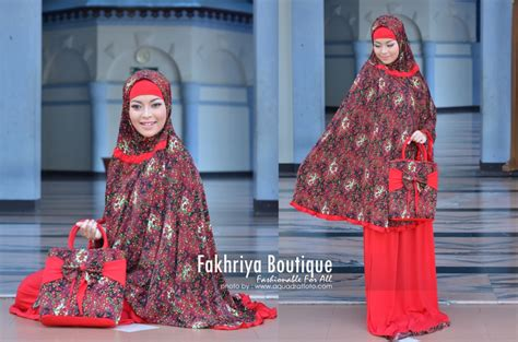 Golden By Efandoank 1 mukena hafiyya merah cabe baju muslim gamis modern