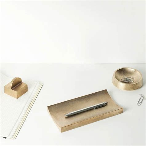 1000 Images About Office Accessories On Pinterest Brass Desk Accessories