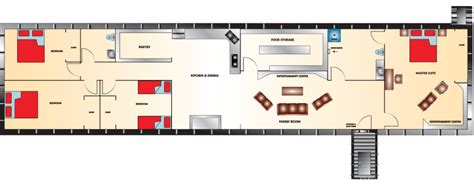 Underground Bunker Floor Plans by Admiral Series Bomb Shelter 20x80 Rising S Bunkers