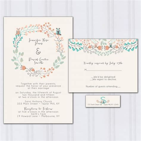Wedding Invitation Number Of Guests Attending by Wedding Invitation Number Of Guests Attending Cogimbo Us